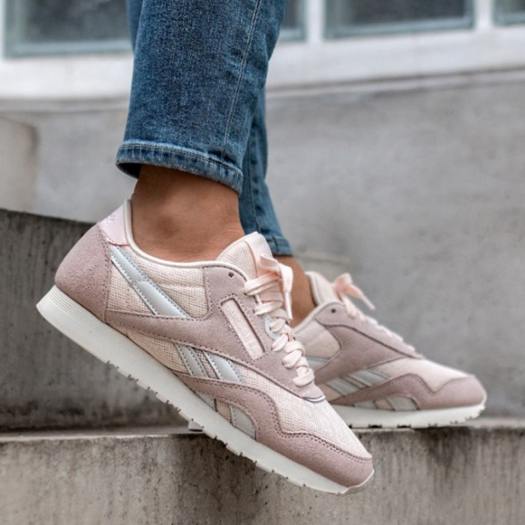 bc76369819677 REEBOK Classic Pastel Suede Sneakers